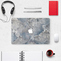 natural designs with good quality marble surface skin case cover for macbook pro air