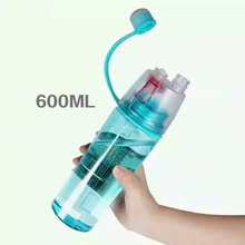 everest water bottle with spray plastic water bottle