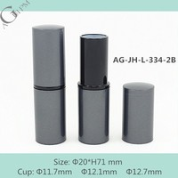 AG-JH-L-334-2B AGPM Cosmetics Cup Size 11.7 12.1 12.7mm new arrival simple style round custom plastic empty lip balm tube