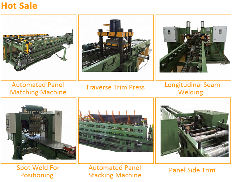 Automatic hydraulic Decoiler & Roll Forming Press Machine for Power Transformer Panel Radiator machine