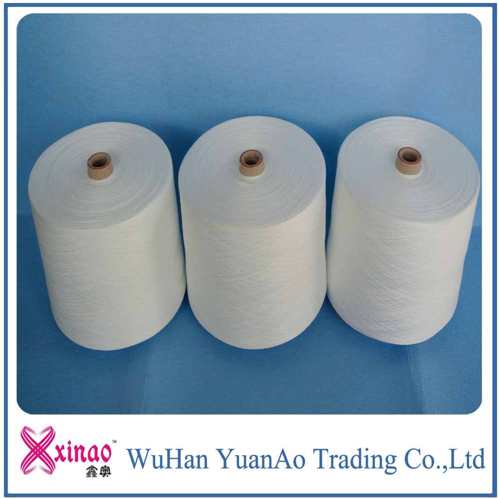 China manufacturer spun polyester current yarn prices