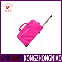 2016 hot sale colorful Pink,black,brown or customized carry on trolly luggage bag