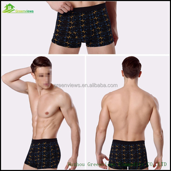 Factory new design hot body men underwear ultimate elastic boxer shorts custom underwear wholesale