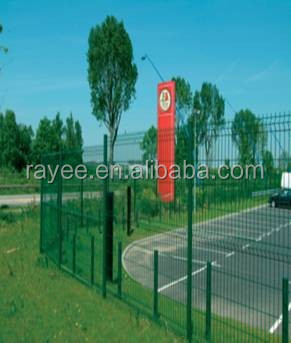 Fencing, Trellis & Gates Type and Chemical Pressure Treated Wood Type coated fencing/ muro con pliegues,cerca temporal