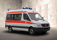 Wholesale High Quality Emergency Rescue Medical Ambulance