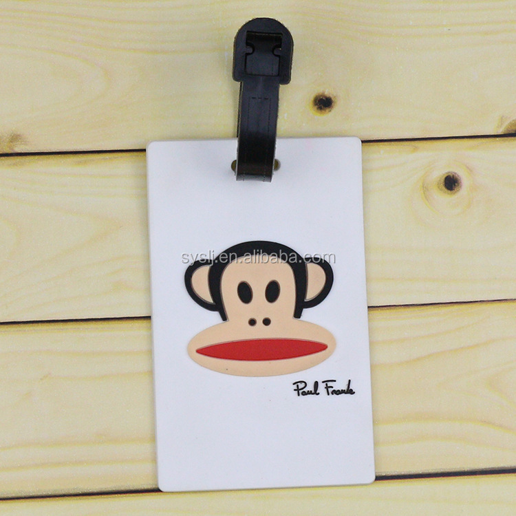 wholesale crew leather strap luggage tag