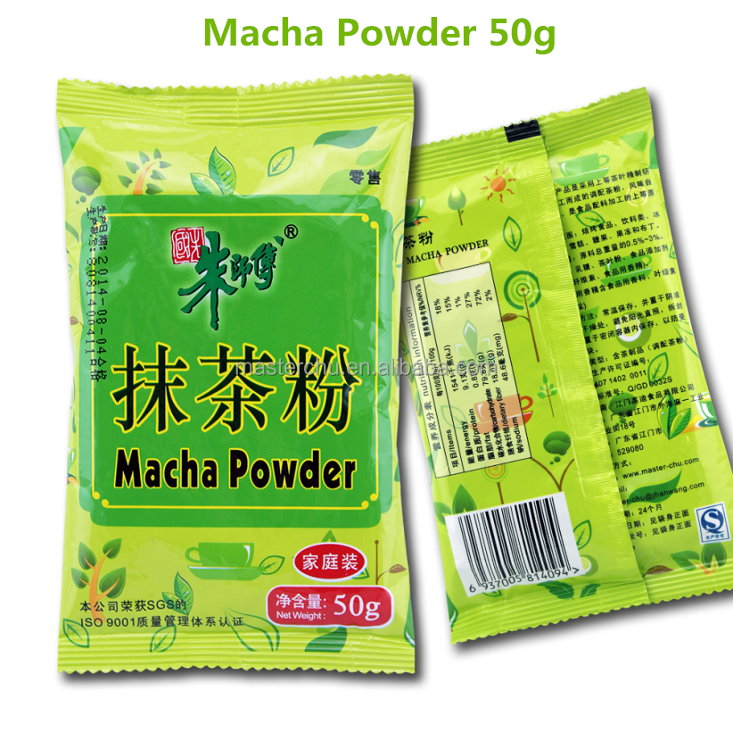 Macha Green Tea Powder Family Packing JD02 for cake, bread, snack and so on 50g