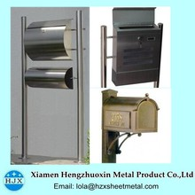 High Quality Free Standing Metal Mailboxes Outdoor Mailbox