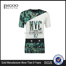 New Trendy OEM Custom Fashion Number Printing Tee Shirts Print Any Parts With You Own Design Sportwear For Men