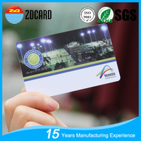 High Quanlity CMYK Double Side Printing Plastic PVC Business Card Factory