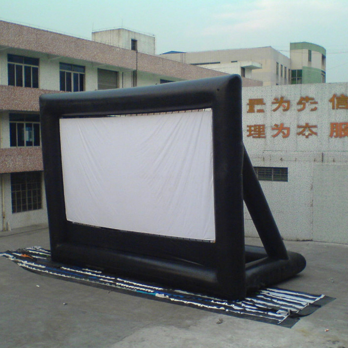 Inflatable 3d Movie billboard / inflatable movie screen inflatable screen