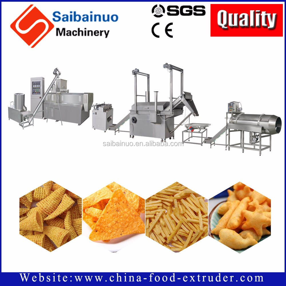 China factory fully automatic Doritos Chips processing machine