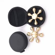 Metal Aluminum Tri Spinner Fidget top selling outdoor toys fidget toy thumb cover spinner 608 2017 New