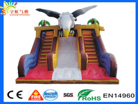 GuangZhou Inflatable Eagle Two Slide Eagle Bouncer Slide Inflatable Kids Playground