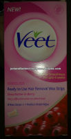 VEET WAX STRIPS, VEET HAIR REMOVAL CREAM
