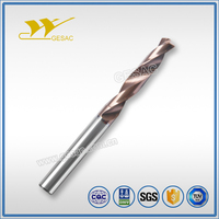 3D External Coolant Carbide Coated Twist Drill for Steel Machining