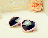2014 Popular Heart-shaped Frame sunglasses JHA9489-3810