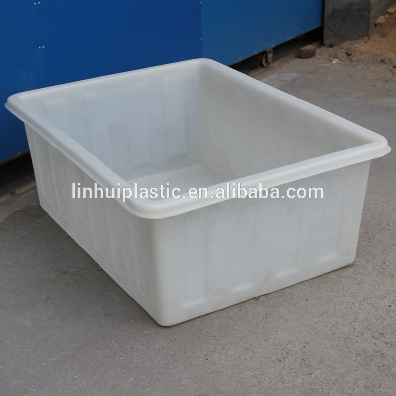 380 litres cheap price square plastic used laundry tub for Plastic pond tub
