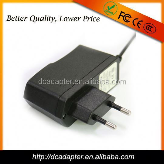 UK USA plug CE ROHS ac dc 24v 0.35a power adapter 24v 350ma