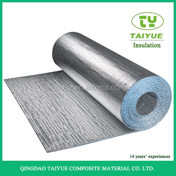 Attic Roof Insulation Double Sided Reflective Aluminum Foil Bubble Thermal Insulation Heat resisitant Material