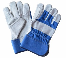 LJSAFETY Construction heavy duty cowhide leather insulated gloves
