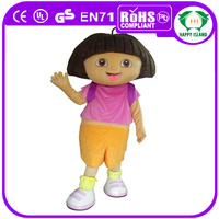 HI Crazy Popular ! character dora the explorer mascot costume,custom mascot character,mascot movie