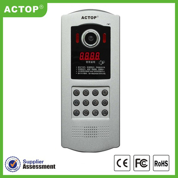 2016 tcp ip keyless entry visual intercom system
