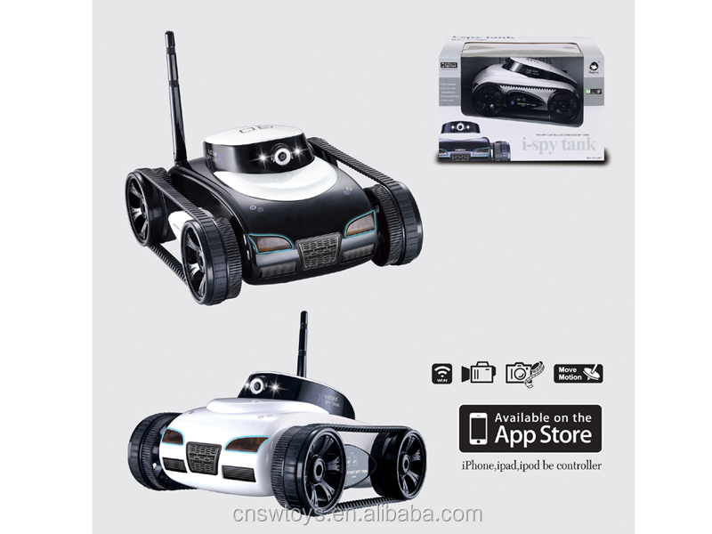 YK0809217 Mini wifi remote control 4channel tank wireless controcl real-time transmission toy tank with usb