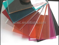 6mm clear tempered glass price ,colored tempered glass with edge polished