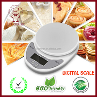 Batteries Included Stainless Steel Digital Multifunction Food Kitchen Scale