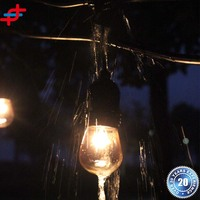 Top sales Patio light Waterproof outdoor string light for holidays
