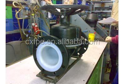 Weir type diaphragm valve