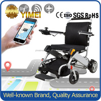 Casters Folding Portable Walking Aid Wheelchair