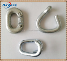 Metal parts fitting, chain connecting link, chain repair links hardware