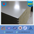Fireproof insulation clean rockwool wall sandwich panel