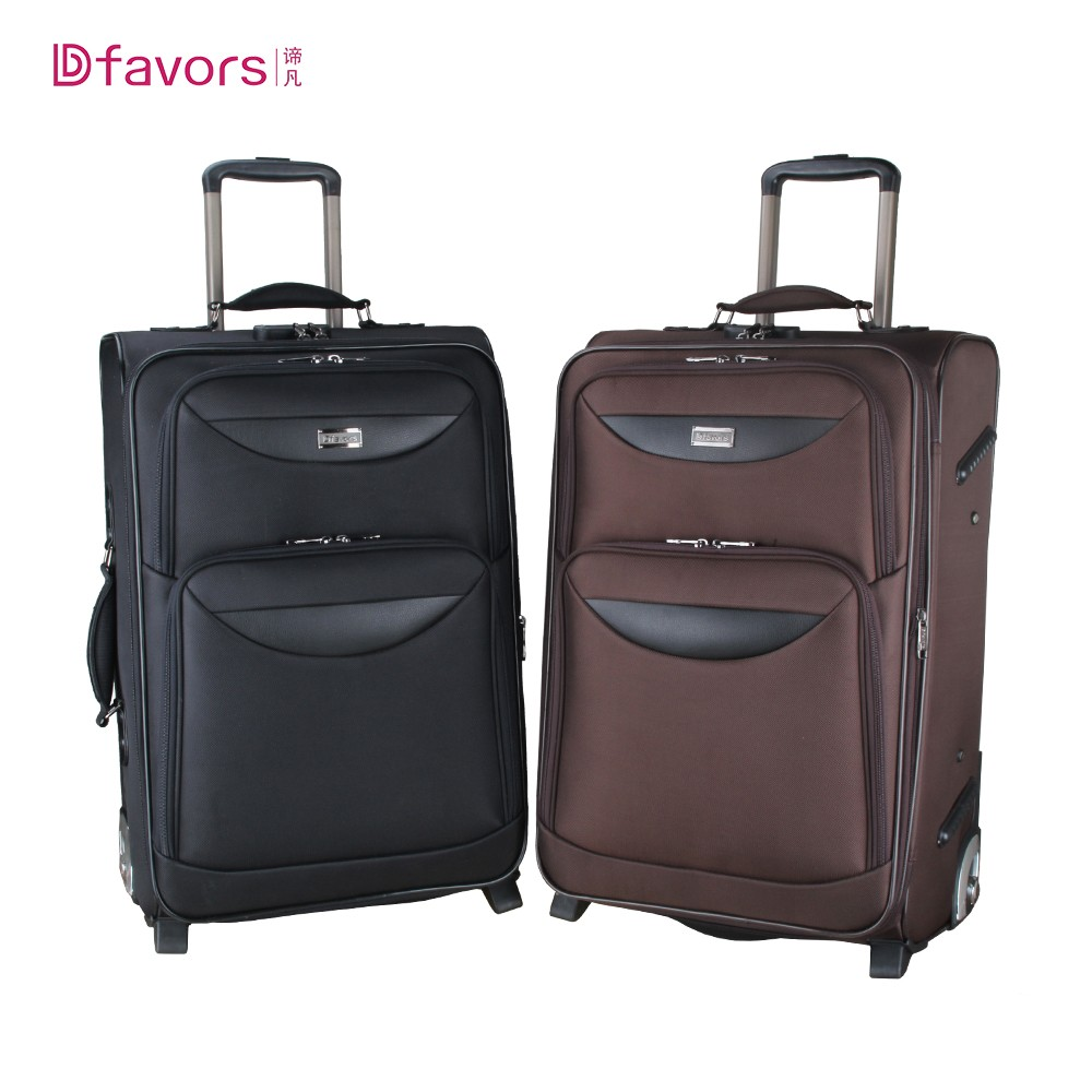 China suppliers lightweight cheap carry-on ergo luggage with famous luggag brand