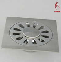 bathroom accessories decorative sink chromed stainless steel floor drain covers