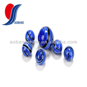 Glass ball marble decorations