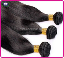 Hot selling European 100% Brazilian virgin Remy hair clip-on extensions different size available