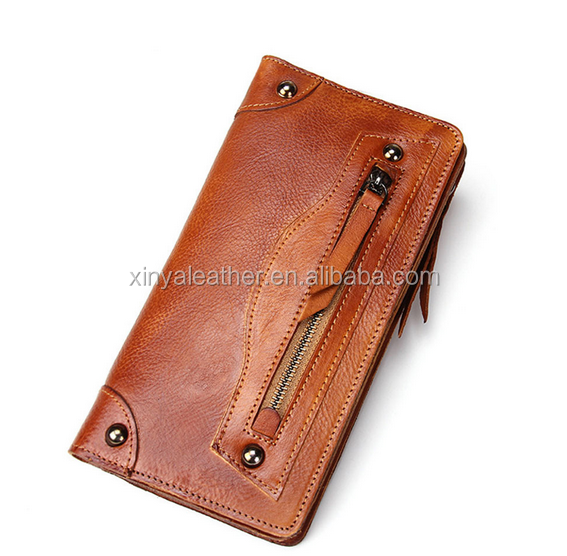High Quality Factory Oem Imperial Horse PU Leather Material Mens Wallet 2016