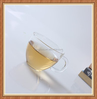 70ml China fire resistant glass teapot set water or coffee drinking handle glass tea cup