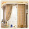 100% polyester jacquard type of drawing room window curtain