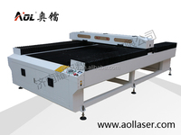 China AOL hot sale cheap price high quality laser cutting machine price for metal and non-metal materials