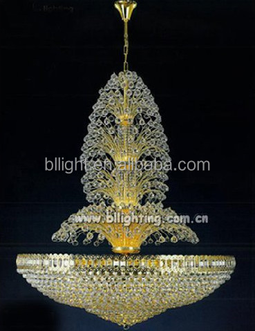 European style modern indoor crystal chandelier light