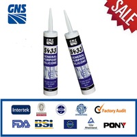 big glass silicone sealant spray