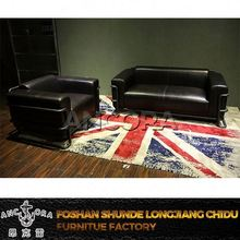 genuine leather reclining loveseat sofa A152