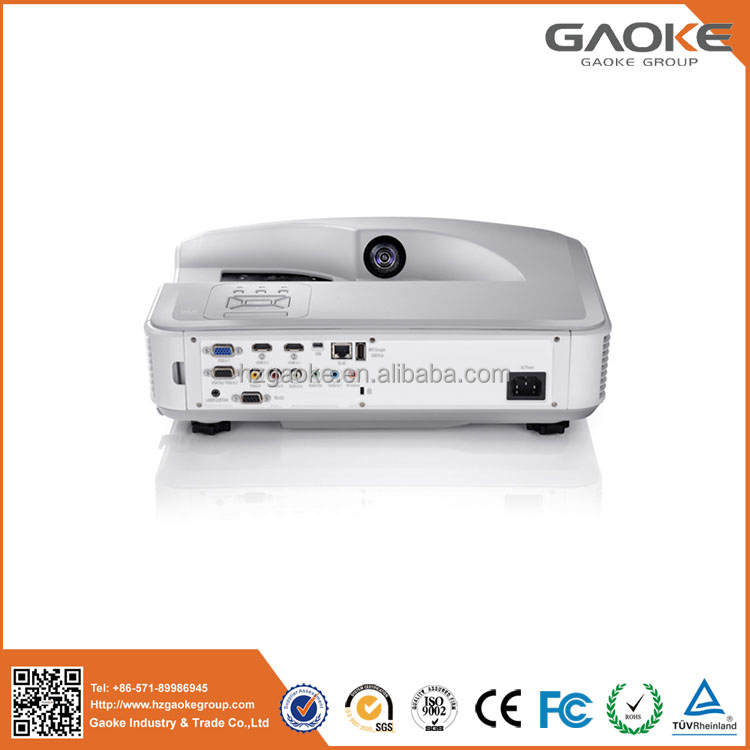 High definition dlp ultra short throw japanese av video projector for education meeting best video projector