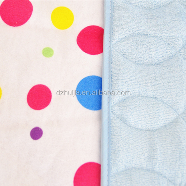 bamboo fibre water-proof and free breathing ultralarge baby changing pads mat
