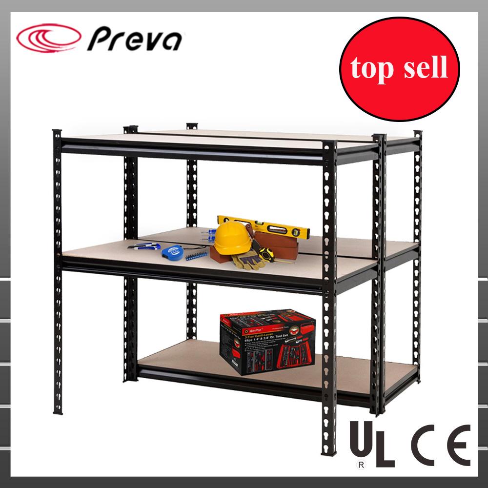 5 Tier Shelving System Black Cheap Price Racking for Storage Boltless Adjustable Shelf