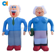 Commercial many kands of character inflatable cartoon about inflatable advertising
